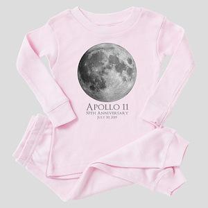 Apollo 11 50th Toddler Pink Pajamas