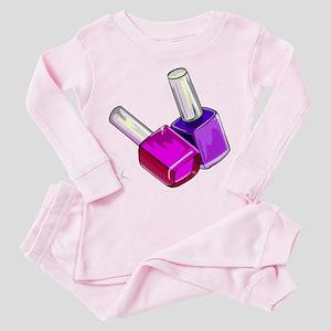 Nail Polish Toddler Pink Pajamas