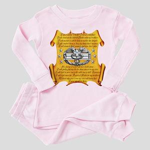 Harvest Moons Medic's Ode Toddler Pink Pajamas