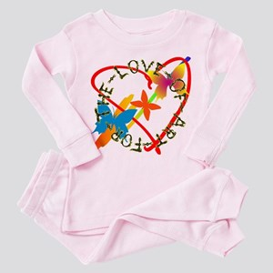 For The Love Of Art Pajamas