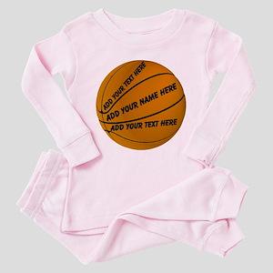 Basketball Toddler Pink Pajamas