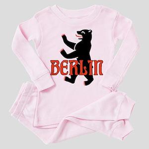 Berlin Coat of Arms Toddler Pink Pajamas