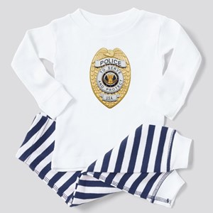 Baby Police Badge Pajamas