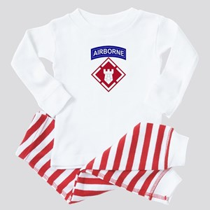 20th Engineer Airborne Baby Pajamas
