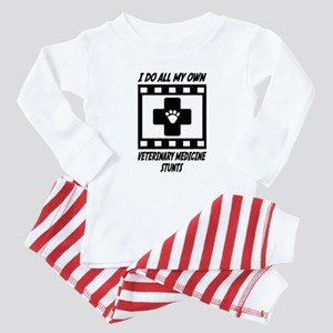 Veterinary Medicine Stunts Baby Pajamas