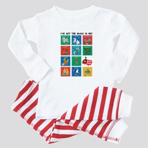 The Music Class Collections Baby Pajamas