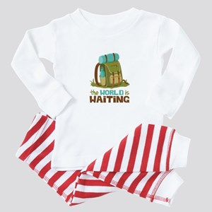 The World is Waiting Baby Pajamas