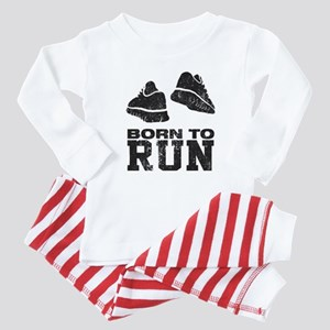 Born To Run Baby Pajamas