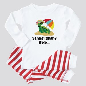 Sanibel Island Florida Baby Pajamas