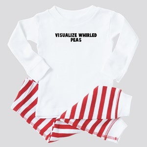 Visualize whirled peas Baby Pajamas
