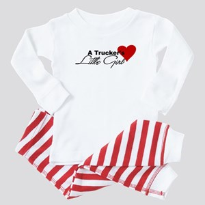 Trucker's Little Girl Baby Pajamas
