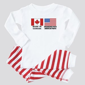 Engineered With American Parts Baby Pajamas