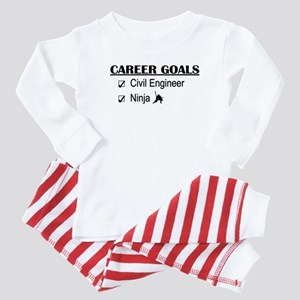 Civil Engineer Career Goals Baby Pajamas