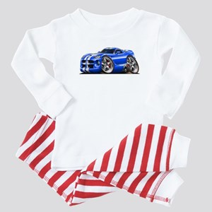 Viper GTS Blue Car Baby Pajamas