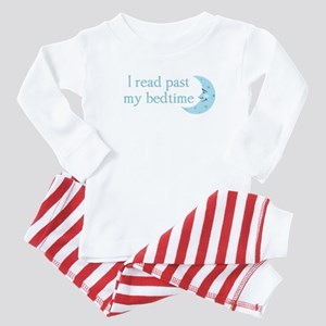 I read past my bedtime Baby Pajamas