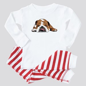 Teddy the English Bulldog Baby Pajamas