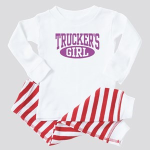 Trucker's Girl Baby Pajamas