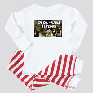 Nor Cal Blues Baby Pajamas