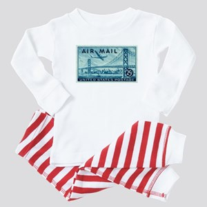 stamp57 Baby Pajamas