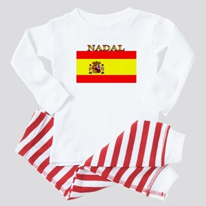 Nadal Spain Spanish Flag Baby Pajamas