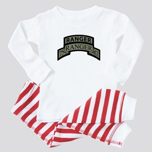 75th Ranger Regt Scroll with Baby Pajamas