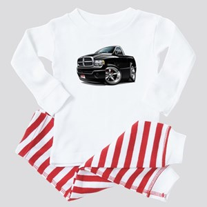 Dodge Ram Black Truck Baby Pajamas