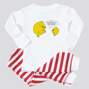 Lemonly Advice Baby Pajamas