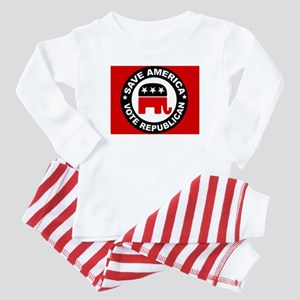 SAVE AMERICA Baby Pajamas