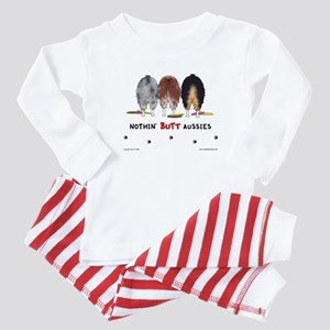 Nothin' Butt Aussies Baby Pajamas