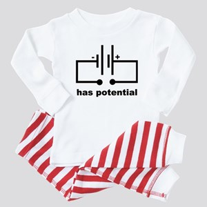 Has Potential Baby Pajamas