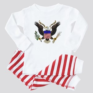 Great Seal Eagle Baby Pajamas