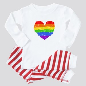 Proud Love Baby Pajamas
