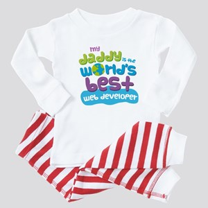 Web Developer Gifts for Kids Baby Pajamas