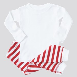 im with honey badger_BLACK Baby Pajamas