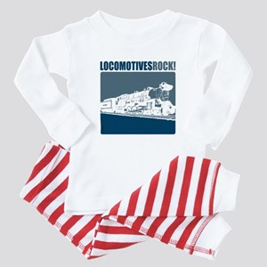 Locomotives Rock Baby Pajamas