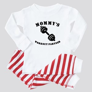 Mommys Workout Partner Baby Pajamas