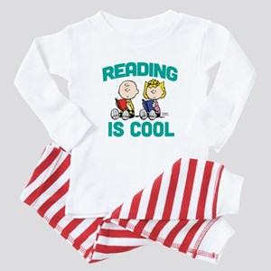 Charlie & Sally Brown-Reading is C Baby Pajamas