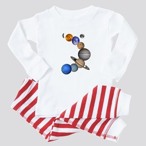 Our Solar System Baby Pajamas