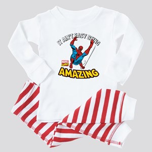 Spider-Man Amazing Baby Pajamas
