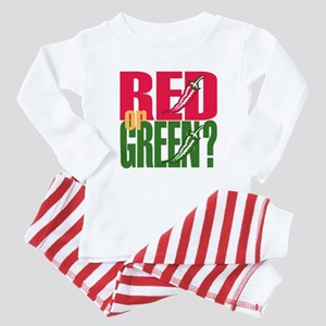 Red or Green? Baby Pajamas