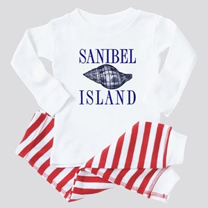 Sanibel Island Shell -  Baby Pajamas