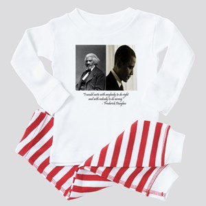 Douglass-Obama Baby Pajamas