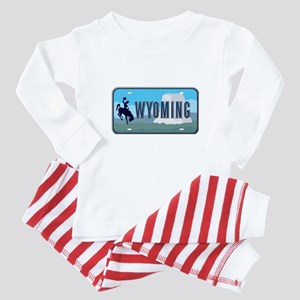 Wyoming Baby Pajamas