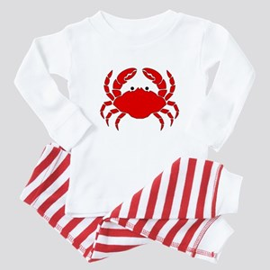 Crab Baby Pajamas