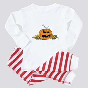 Pumpkin Patch Lounger Baby Pajamas