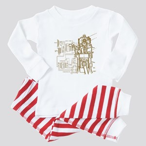 Mech tech engineering Baby Pajamas
