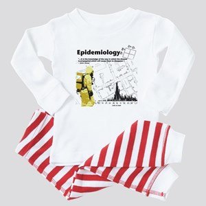Epidemiology Inspirational Quote Baby Pajamas