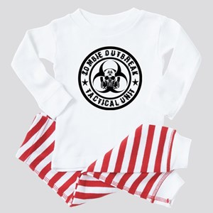 Zombie Outbreak Tactical unit Baby Pajamas