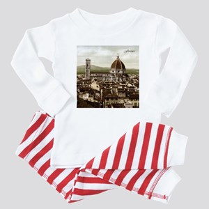 Vintage Florence Cathedral Baby Pajamas