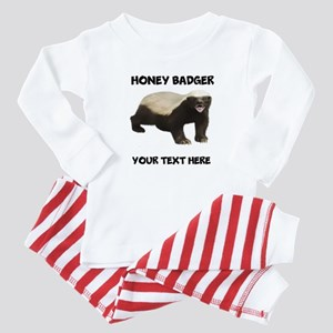 Custom Honey Badger Baby Pajamas
